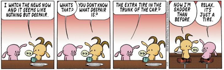 despair pearls before swine