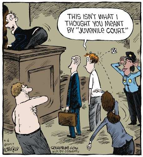 speed bump juvenile court
