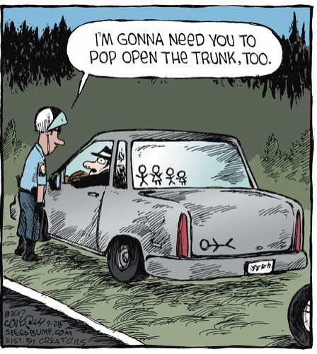 dave coverly speed bump trunk