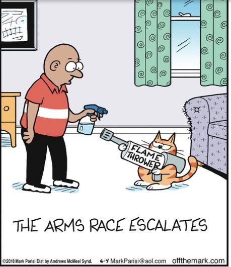 mark arms race
