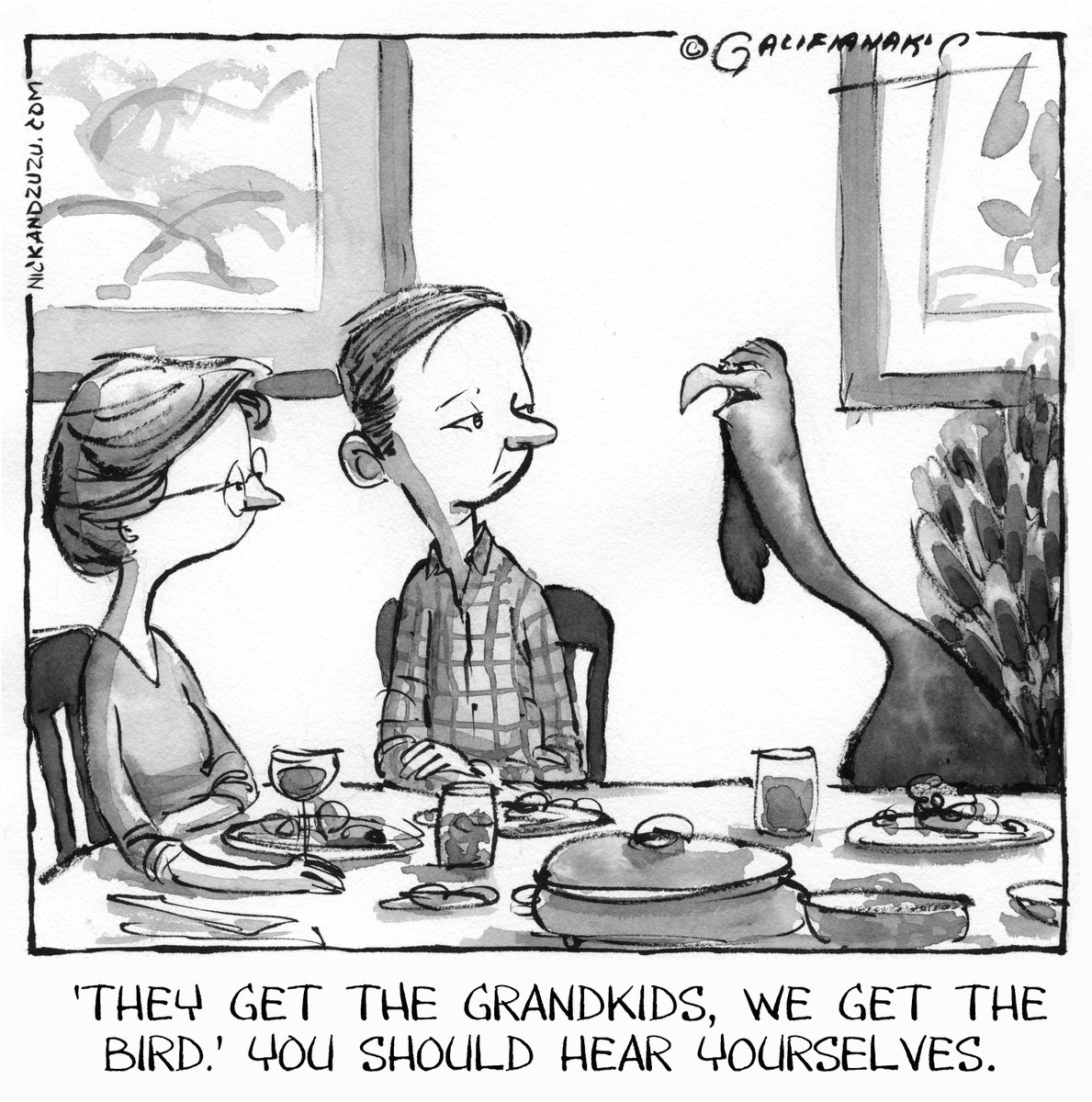 nick and turkey