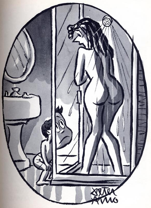 shower peter arno