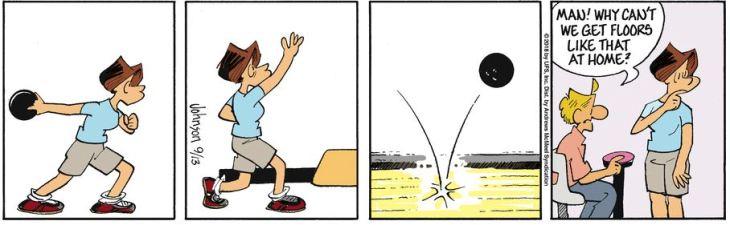 bowling bounce