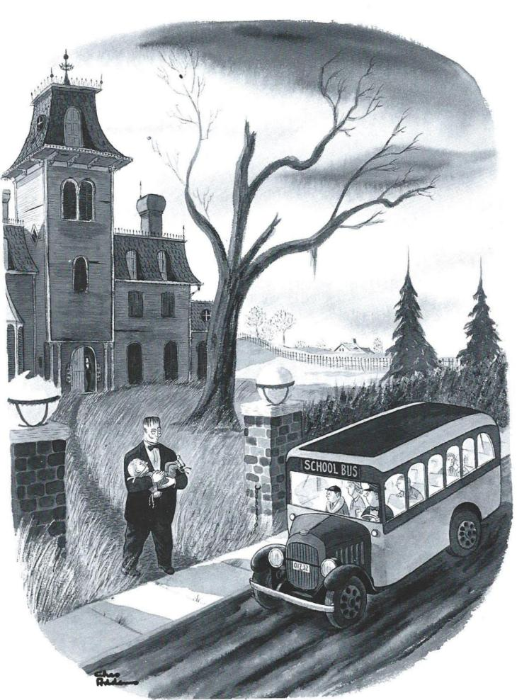 FIRST DAY OF SCHOOL addams-september-29-1951