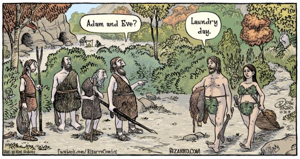 bizarro adam and eve