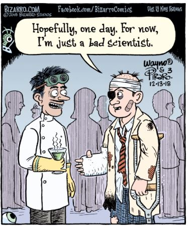 bizarro scientist