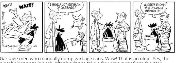 garbage men