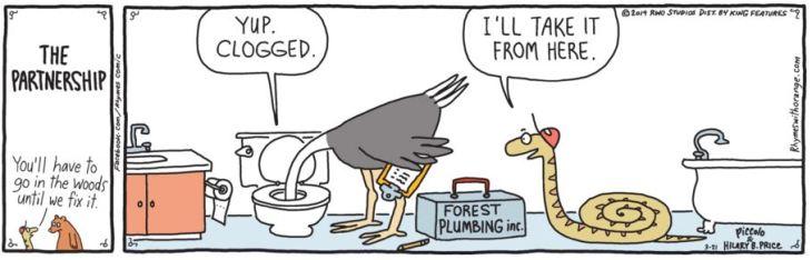 April 14 ewww plumber