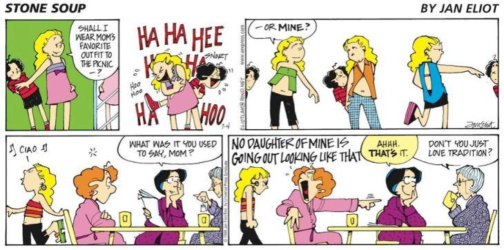 granny's a hypocrite
