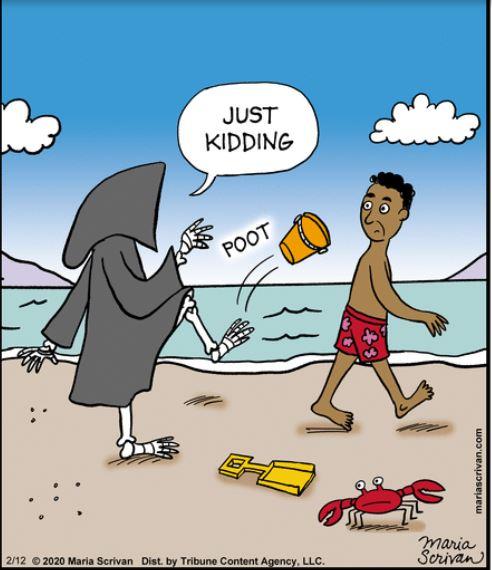 kicking the bucket