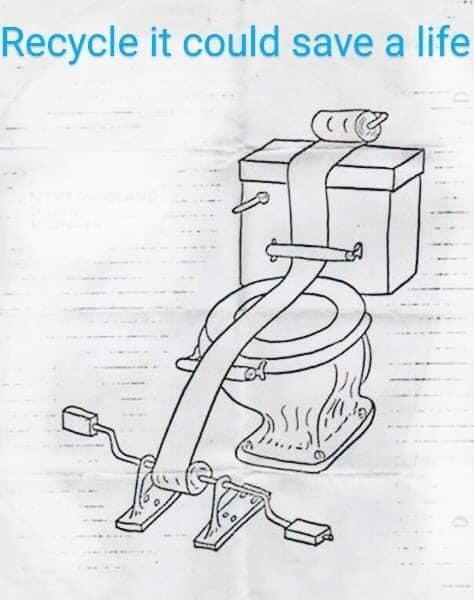 April 4 ewww wildebeast toilet