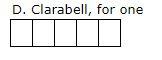 clarabell