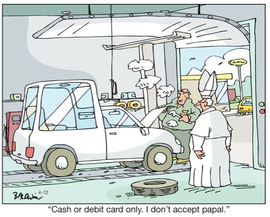 may 9 oy papal cornered