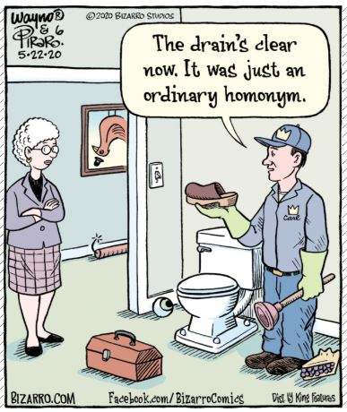 bizarro plumber