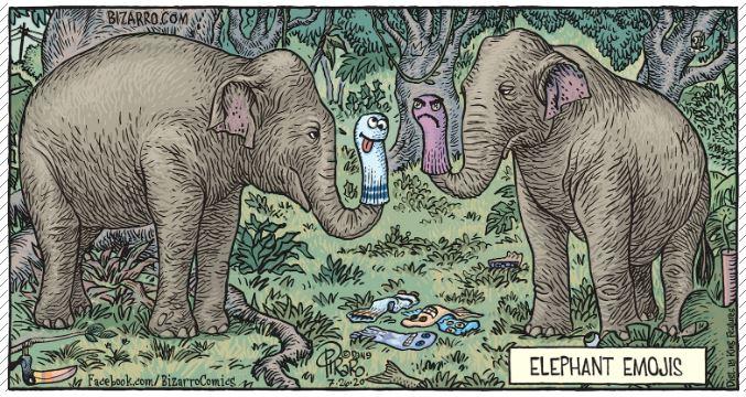 elephant emojis