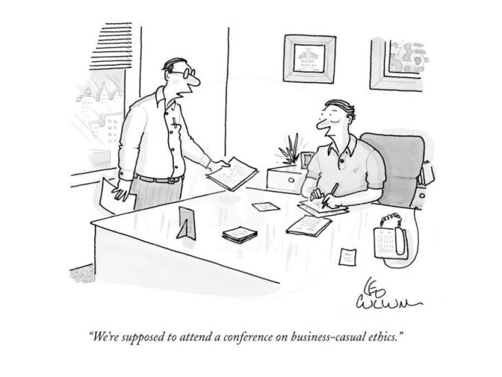 July22 we-re-supposed-to-attend-a-conference-on-business-casual-ethics-new-yorker-cartoon_u-l-pgqq9z0