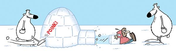 tundra igloo